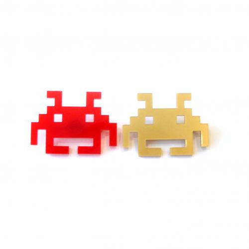 broches space invaders copie copie