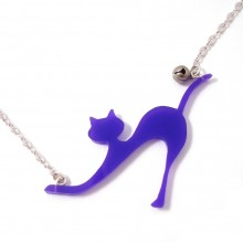 collier chat près